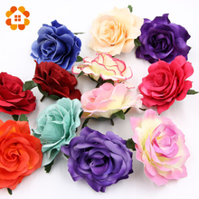 decorative Artificial roses Flower Heads Wedding party Decoration DIY Wreath Gift Box Scrapbooking Craft Fake Flowers - House Factory Direct Online Store store