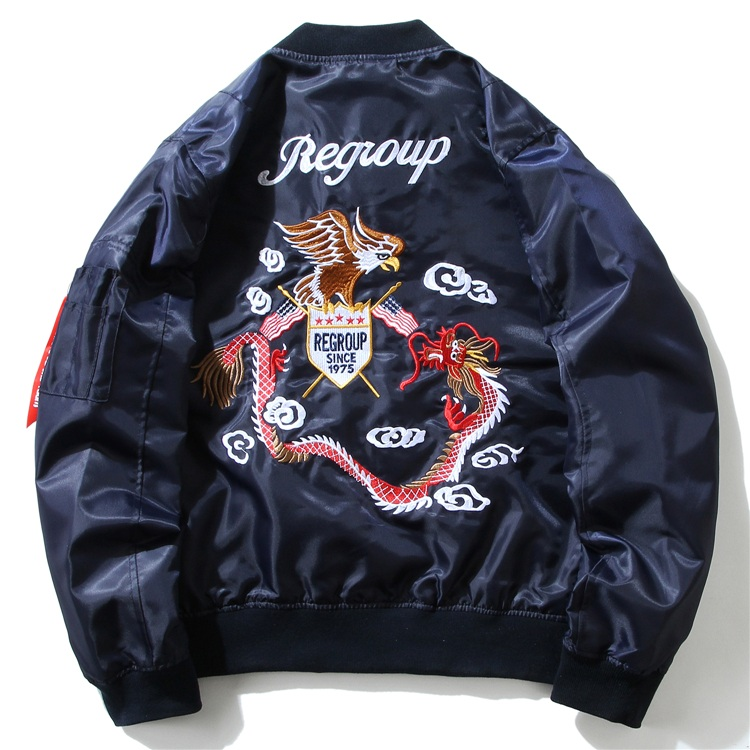 Eagle Dragon MA1 Bomber Jacket 3