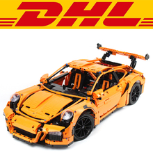 2017 New 2704Pcs Technic Series 911 GT3RS Race Car Model Building Kits Blocks Bricks Toy Compatible With Gift 42056