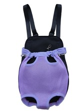 New Purple Sandwich Mesh Pet Legs Out Front Carrier/Bag dog carrier Free Shipping By China Post