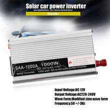 500W/800W/1000W/1500W Modified Sine Wave Car Auto Power Inverter Vehicle Voltage Inverter DC12V To AC110V Power Inverter Adapter(China)