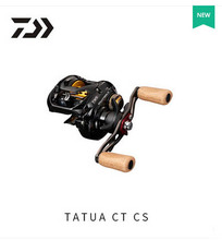 2017 NEW MODEL DAIWA TATULA CT 100H 100HL 100HS 100HSL CS low profile fishing reel Max Drag 6KG Cork Fishing handle knob TWS
