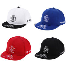 Fashion Letter Embroidery Iron Ring Snapback Hat Unisex Adjustable Baby Baseball Cap Hat White, Black, Red, Blue