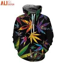 3d Hip Hop Weed Leaf 3d Printed Hoodies Women Men Street Clothing Fashion Hooded Sweatsuits Tops Mens Streetwear Hoody