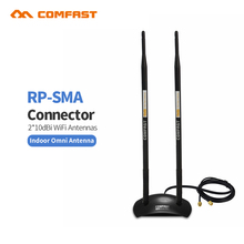20dBi High Gain Wireless Antenna long Coverage 2.4GHz RP-SMA OMNI Wifi Antenna COMFAST CF-ANT2410DA for PCI Card Modem Router