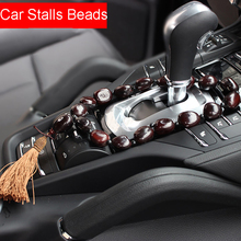 Bodhi Seeds Peace Beans Car Stalls Gear Decoration Ornaments Auto Rearview Mirror Hanging Pendant Automotive Decor Accessories(China)