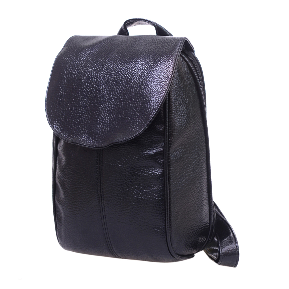 2017 Simple Women Black Leather Backpack for Student Girls Female Shoulder Bags Small and Big Design Travel Bags mochila<br><br>Aliexpress
