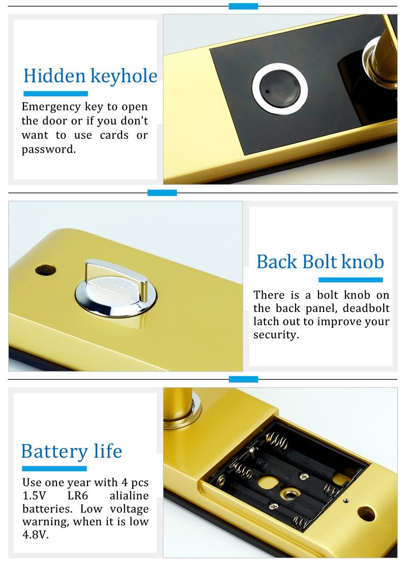 digital code door lock