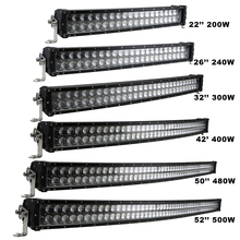 Sufemotec 5D Curved LED Light Bar 200W 240W 300W 400W 480W 500W For Off Road Trucks 4X4 SUV ATV Heavy Duty Strong Shell IP68 12V(China)