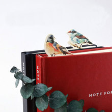 30 pcs/pack kawaii Lovely bird Bookmark Paper Cartoon Animals Bookmark Promotional Gift Stationery Bookmark Stationery