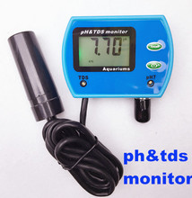 hot sales Multi-parameter Water Quality Monitor ph meter TDS tester tool 2 in1 Acidometer for Aquarium  Analyser