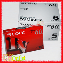 5 Pcs Mini DV Cassette Tape High Quality Digital Video Cassette SP 60m LP 90m MADE IN JAPAN with Free Gift