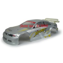 HENGLONG 3851-1 RC EP car Lightning 1/10 spare parts No. 10007 White(silver) Car body shell / car shell / car body