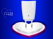 Small Size Negative Ions Air Cleaner Purifier Negative Ionizer Air Fresher for Home Office Using