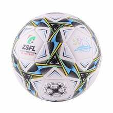 Two Color PVC Soccer Ball Size 4 Primary And Middle School Students Training Equipment Football Ball(China)