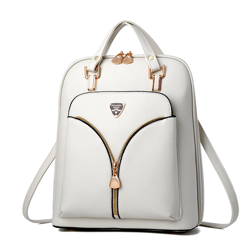 Nevenka Anti Theft Leather Backpack Women Mini Backpacks Female Travel Backpack for Girls School Backpacks Ladies Black Bag 201805