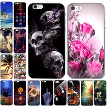 Case for Iphone 6 6s Case Cover Silicon Cover for iPhone 5 5S 6 6S Plus Phone Cases Cover for iPhone 5S 5 SE 6 7 8 7plus 8 plus(China)