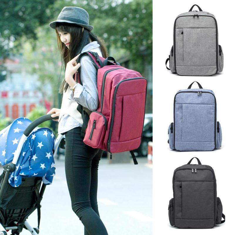 New Baby Diaper Bags For Mom Backpack Maternity Bags For Mother Bag Baby Stroller Organizer Diaper Backpack Large Nappy Bag XV2<br>