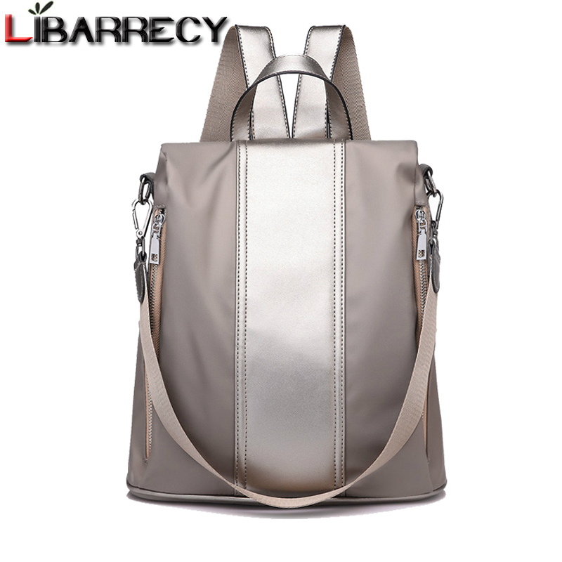 Outdoor Gear Multi Functional PU Backpack Women Fashion Leisure Shopping Single Shoulder Bag Student Schoolbag Daypacks & Casual Bags