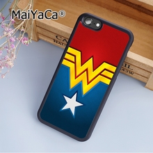 MaiYaCa Wonder Woman custom Soft Rubber cell phone Case Cover For iPhone 6 6S phone cover shell(China)