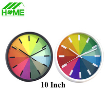 Large Rainbow decorative digital wall clock modern design 3D DIY big brand vintage silent Clocks for kitchen Living home Decor