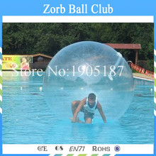 Factory Price Human Sized Hamster Ball,Water Walking Ball ,Inflatable Water Ball,Zorb ball On Sale(China)