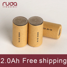Ni cd 2000mAh 10Pcs battery pack,rechargeable battery,high power battery cell,power tool battery,Power Cell,Discharge rate 10C