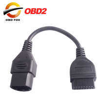 for Mazda 17 Pin To OBD 2 OBD II Cable 16 Pin Connector Diagnostic Tool Adapter Extension Cable Good Quality free shipping