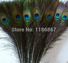 free shipping 100pcs/lot peacock feather peacock tail feathers 70-80cm