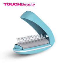 TOUCHBeauty High Frequency Vibration Scalp Massagers for Hair Growth, Foldable Detangling Hair Brush Mirror, Magic Brush TB-1178(China)