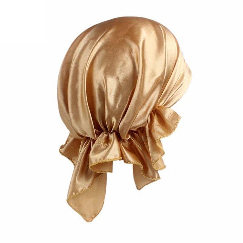 Women Summer Hats Fashion Casual New Arrivals Cancer Chemo Hat Beanie Scarf Turban Head Wrap Cap Hot Sale Hats #J19 (6)