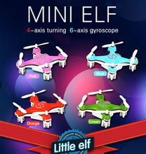 Free Shipping The newes cool&best tMini RC Quadcopter Toys 4 channel with 6 Axis gyro , nano drone with 3D stunt  birthday gift