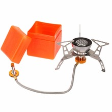 2900W Cooking Big Power Windproof Gas Stove Butane Portable Foldable Split Furnace Outdoor Camping Equipment