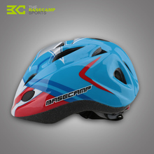 BASECAMP Children Bicycle Helmets Hero Style Safety Bike Helmet Night Light Ultralight Breathable Cycling Kid Helmet BC-019(China)