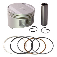 Motorcycle Engine parts +50 Cylinder Bore Size 73.50mm Pistons & Rings Kit For Yamaha TTR250 TTR 250 4GY 1999-2006 Piston Ring