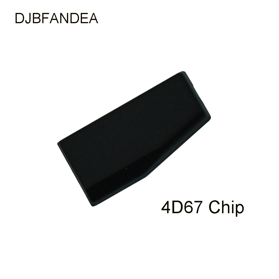 DJBFANDEA 4D67 Transponder Chip For Toyota CAMERY COROLLA PREVIA REIZ CROWN RAV4 For Lexus P28 4D ID 67 Chip(China)