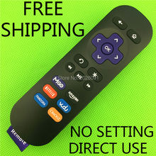 Newest Replacement Remote Control for Roku Models Roku 1 Lt Hd Roku 2 Xd Xs Roku 3 with 6 Shortcuts Buttons
