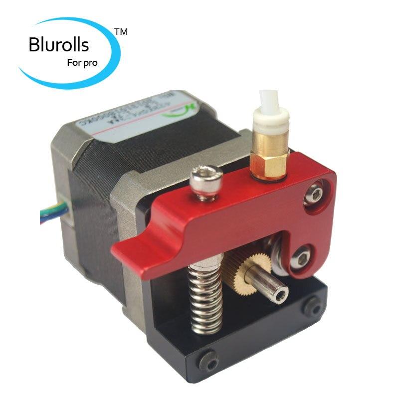 3d printer parts reprap Replicator diy left-hand MK8 direct drive extruder kit/set (no motor) compact extruder top quality<br><br>Aliexpress
