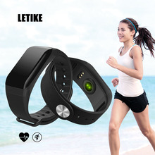 LETIKE Smart Bracelet Sport Pedometer Fitness Tracker Sleep Monitor Wristband Bluetooth 4.0 Wterproot Smartband For IOS Android(China)
