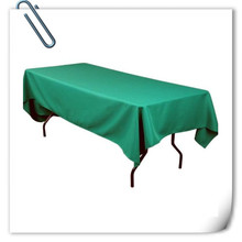 Big Discount  !!! 10pcs 150*320cm  Rectangle Green    table cloth 180GSM For Wedding Events &Hotel & Banquet Free shipping