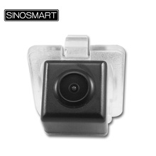 SINOSMART In Stock Car Rear View Parking Camera for Great Wall H6 Easy Installation in Factory Original License Plate Light Hole
