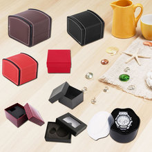 New Practical Jewelry Box Gift Boxes for Bracelet Earrings Watch Case with Foam Pad Gift Boxes for Present Watch Box Gift(China)