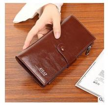Special offer top quality leather long wallets women hot sell fashion female Holding purse women's money bag packet(China)