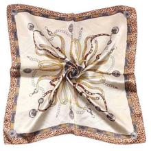 2016 Fashion Brand Women Satin Silk Scarf Female Design Satin Big Square Shawl For Ladies #ED