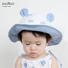 KACAKID Children Cap Bonnet Butterfly Pattern Unisex Children Baby Cap Hat Cute Print Infant Baby Basin Cap Fisherman Hat ka2055(China)