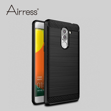 Airress Premium Soft TPU Brushed Carbon Fiber Texture Defender Phone Case Cover for Huawei Mate 9 Lite / Honor 6X / GR5 2017(China)