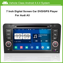 Car DVD/GPS player FOR Audi A3 2003-2012 S3 With GPS A8 Chipset Dual Core 3 Zone POP Free Map