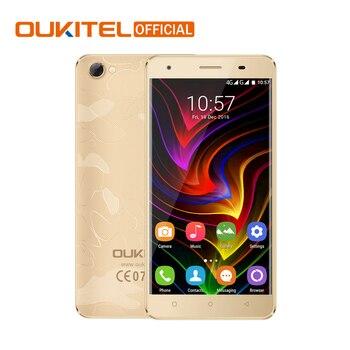 "D'origine Oukitel C5 Android 6.0 MTK6580 Quad Core Smartphone 5.0 ""1280*720 HD Mobile Téléphone 2G RAM 16G ROM 2000 mAh Téléphone Portable"