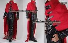 Anime Final Fantasy FF05 Vincent Valentine Cosplay Costume Custom-Made Free Shipping