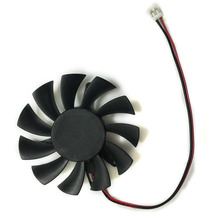 one piece of computer gpu cooler fans vga cooling fan for gainward gt220 gt 220 red graphics video card cooling